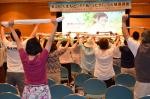 第12回くまもと『PTあ!(ヒタ)」っと健康講座実技写真