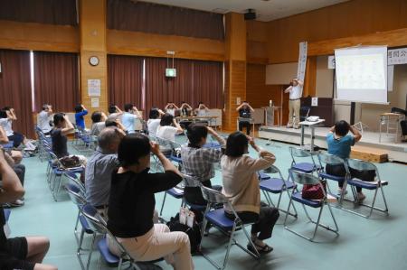 2014年理学療法週間 公開講座 ~地域で元気に暮らすために~