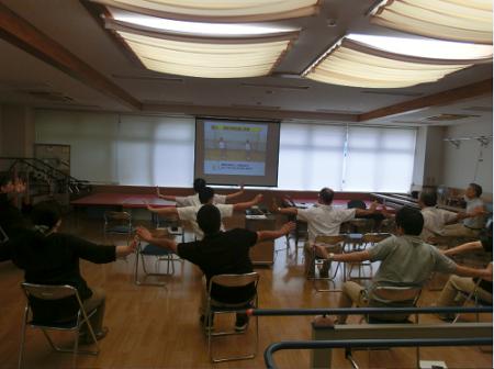理学療法士による介護予防教室