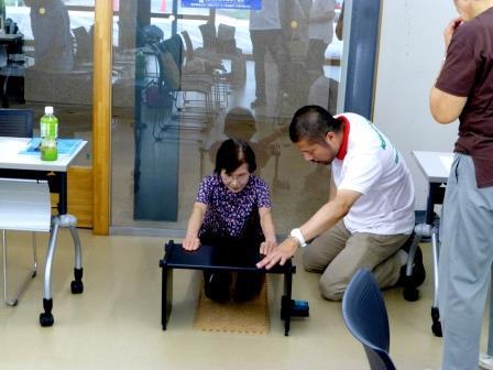 介護予防教室 「身体のバランス能力を考える」