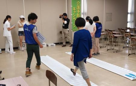 千葉県立保健医療大学オープンキャンパス ロコチェック~あなたのロコモ度は?