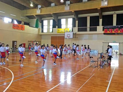 第4回 長崎県理学療法士協会杯 中学校女子バスケットボール長崎西彼地区大会