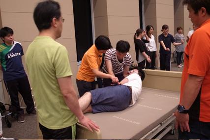 看護介護職員向け動作介助研修会