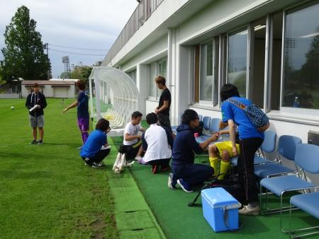 第50回全国ろうあ者大会サッカー競技における理学療法サポート活動